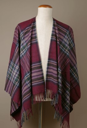 MINI Poncho Ingleborough Burgundy